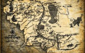 the lord of the rings fantasy map
