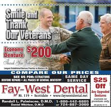 Fay West Dental, 111 Crossroads Rd, Scottdale, PA (2020)