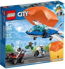 Đồ chơi lắp ráp LEGO City 60208 - Máy Bay Cảnh Sát Nhảy Dù (LEGO ...