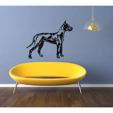 Shop Great Dane Dog Exhibition Wall Art Sticker Decal Overstock 11336140
