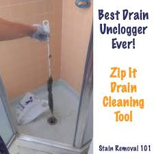 drain unclogger zip it drain cleaning tool