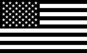 American Flag Sticker Black White Fwd American Flag Decal American Flag Sticker Flag Decal