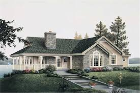 country cottage house plan by the lake