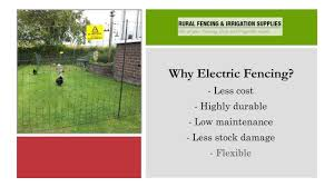 Get Quality Electrical Fencing Supplies In Perth Youtube