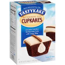 tastykake ercreme iced cupkakes 6