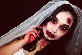 zombie bride makeup tutorial lien jae