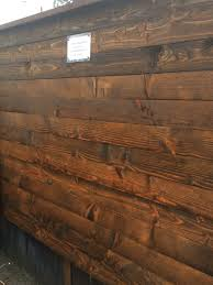 1 5 1 2 8 Pre Stained Douglas Fir Altamit Fence Board Mill Outlet Lumber