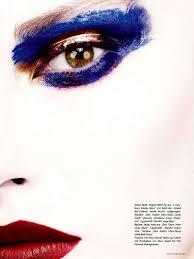 artful eye shadow editorials und