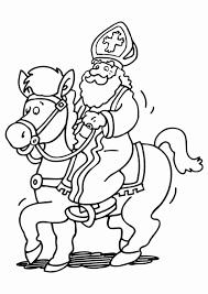 Kleurplaten Kleurplaat Sinterklaas Op Paard