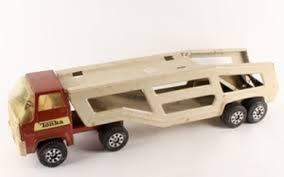 Lot Art 1970s Tonka Car Carrier