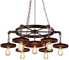 lights retro rustic pendant light