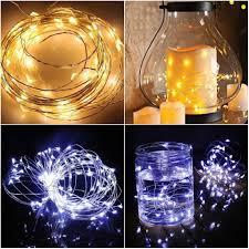 Dây đèn 100 LED dài 10m chạy bằng pin dùng để trang trí nội thất giảm chỉ  còn 31,599 đ