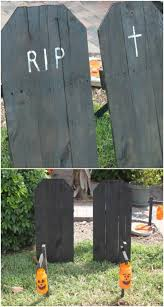 25 Fantastic Reclaimed Wood Halloween Decorations For Your Home And Garden Diy Crafts