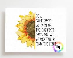 Sunflower Decor Etsy