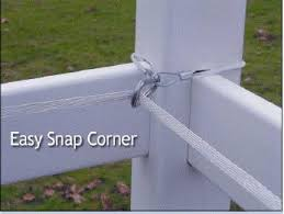 Easy Snap Corner Insulator Electric Fence