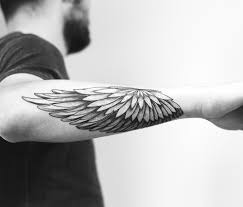 Wing Arm Alas Tatuaje Tatuaje Ojos De Tigre Tatuaje De Brazalete