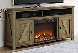 altra fireplace tv stand ameriwood home