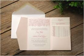 pocket wedding invitation kits diy