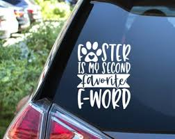 Foster Decal Etsy