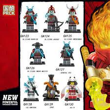 Minifigures Ninjago Các Nhân Vật Hồ Ly Samurai Char Akita Mẫu Mới ...