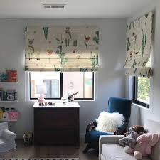 Light Filtering Alpaca Print Roman Curtain For Kids Bedroom Photo Shared From A Customer Alpaca Romansha Kids Curtains Home Decor Online Home Decor Stores