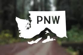 Pnw Vinyl Washington Vinyl Pnw Is Best Pacific Northwest Etsy Vinyl Sticker Mountain Decal Vinyl