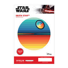 Death Star Window Decal Chromatic Fanwraps
