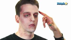 how to do basic zombie makeup you