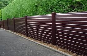 Rosewood Foil Wrapped Upvc Plastic Fence Panel Cocklestorm Fencing