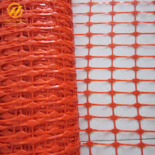 China Hot Sale Plastic Industrial Construction Warning Barrier Safety Fence China Plastic Barrier Fence Orange Plastic Safety Fence