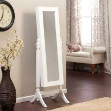 mirror with hanging rail hall tree