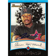 Aaron Mcneal autographed Baseball Card (Houston Astros) 2001 Bowman #366