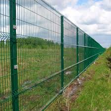 China Powder Coated Green Safety Welded Wire Mesh Curved Fence China Curved Fence Safety Curved Fence