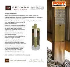 Calgary Ab Canada Remuda Building Post Protector Inc Facebook