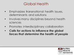 Global Health What is it and why the fuss? C. 'Sola Olopade, MD, MPH  Professor, BSD Clinical Director, Global Health Initiative. - ppt download