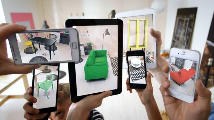 """Image result for استخدامات الواقع المعزز والواقع الافتراضي في التجارة الإلكترونية"""""""