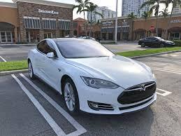 2014 Tesla Model S 5YJSA1S1XEFP30637 for sale in Aventura, FL