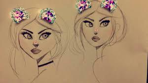رسومات بنات سهله بالصور احلى رسومات بنات سهله المرأة العصرية