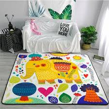 Cartoon Elephant Carpets Soft Flannel Area Rugs Parlor Kids Room Anti Slip Large Baby Crawling Mat Rug Carpet For Living Room Car Carpet Installation Bigelow Commercial Carpet From Fugao001 125 5 Dhgate Com