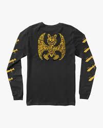 grillo bat long sleeve t shirt m460qrgr