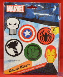 Hot Spot Collectibles And Toys Marvel Car Decals
