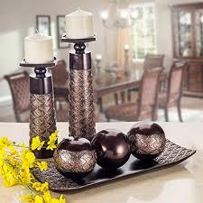dublin decorative tray and orbs