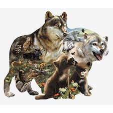 Wolf Pack Nature Lover 3 Pack Of Vinyl Decal Stickers 5 For Laptop Car Walmart Com Walmart Com