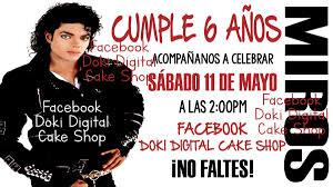 Invitacion Digital Imprimible De Michael Jackson 65 00 En