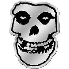 C D Visionary Misfits Skull Heavy Metal Sticker Music Arts