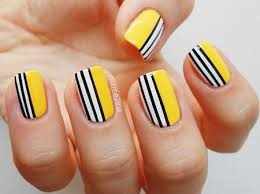 22 simple easy nail art design for
