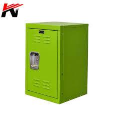 Orange Kids Storage Locker Steel Safe Storage Kids Toy Gym Room Locker Keeper