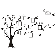 Shop Large Photo Picture Frame Family Tree Removable Wall Sticker Decor Decal Overstock 16994286