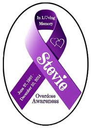 Personalized Awareness Ribbon 4 X6 Magnet Sticker Or Cling Art Blusparkle