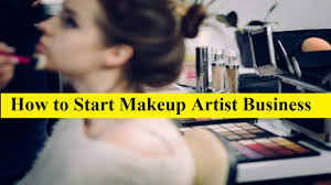start uk based makeup artist business